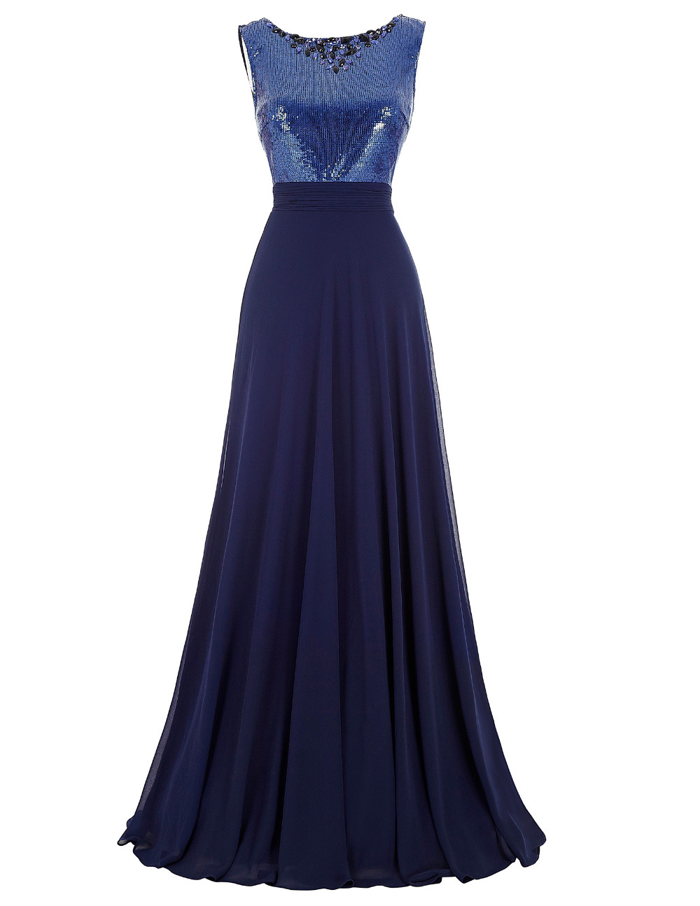 Western junior bridesmaid dresses long navy blue wedding for Navy blue dresses for wedding