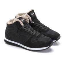 UPUPER Männer Schnee Stiefel Männer Winter Schuhe Leichte Komfort Turnschuhe Männer Stiefeletten Plus Größe 36-48 Zapatos De hombre(China)