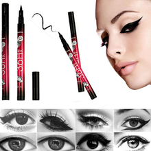 Makeup Waterproof Black Liquid Eyeliner Make Up Beauty Comestics Eye Liner Pencil Maquiagem Eyeliner Cosmetic Tools High Quality(China (Mainland))