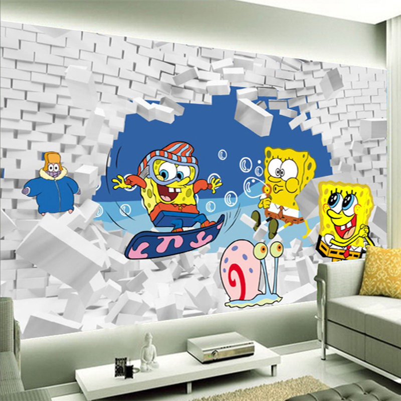 popular spongebob wall paper buy cheap spongebob wall popular spongebob murals buy cheap spongebob murals lots