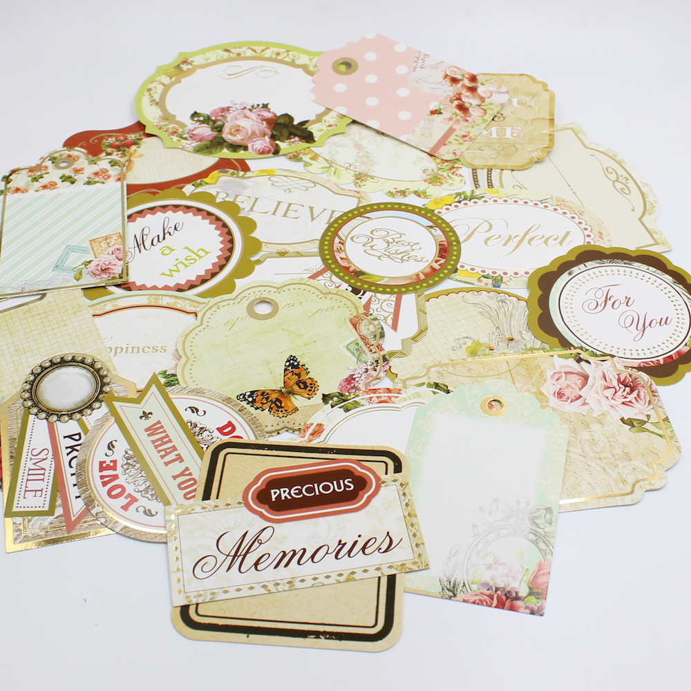 how to use die cuts in card making