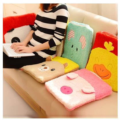 2016 New Arrival Limited Cushions Decor Cojines Decorativos G Thickened Cartoon Office Computer Cushion Plush Sub Student(China (Mainland))