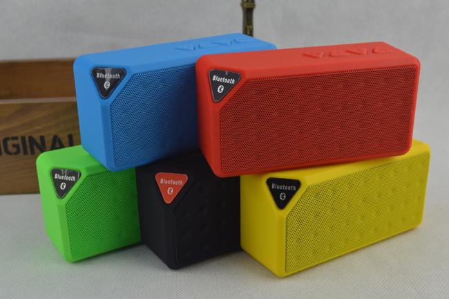 Portable Jambox Style X3 Bluetooth mini speaker Mic wireless bluetooth Phone Pad - SAVEMALL store