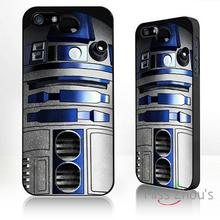 For iphone 4/4s 5/5s 5c SE 6/6s plus ipod touch 4/5/6 back skins mobile cellphone cases cover R2D2 Star wars style