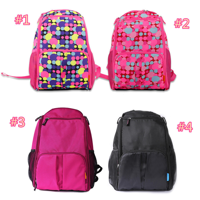 Fashion design mommy diaper bag multifunction backpack Oxford Waterproof Eco-friendly travel bag for mum(China (Mainland))