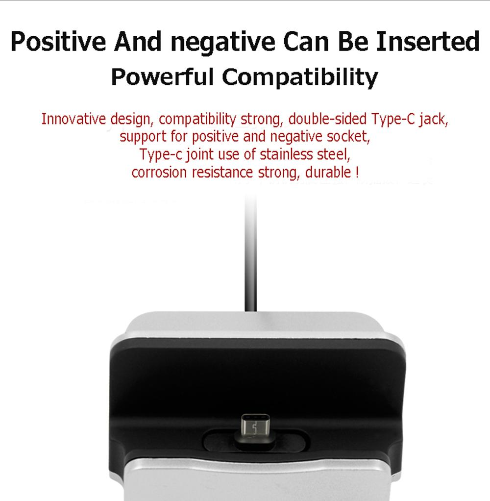 New Sync Data Charging Dock Station Desktop Docking Charger Type-C For Gigaset ME / Gigaset ME Pro / Gigaset ME Pro Pure(China (Mainland))
