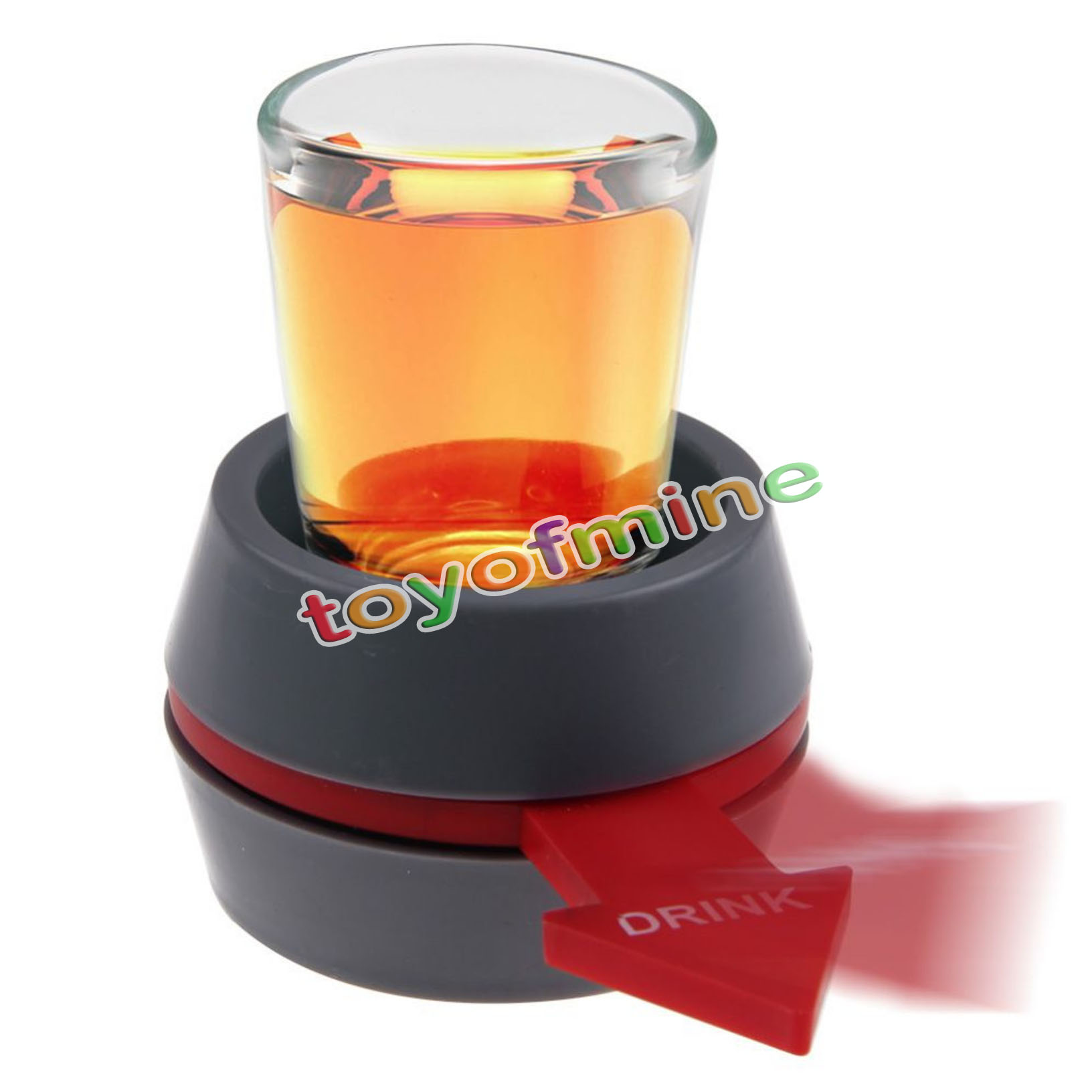 New Funny Spinner Spin The Shot Glass Drinking Game Fun Party Gift(China (Mainland))