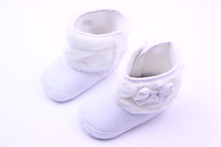 Brand New Baby Boots Warm Winter Boots For Toddler Infant Children Cotton Snow Boots First Walkers white baby shoes(China (Mainland))
