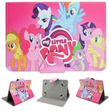 "Cute Mon petit Poney my Little Pony poni Cartoon Leather Case Cover for Lenovo Tab 2 A7-30 7"" Tablet PC+ Screen protector + Pen(China (Mainland))"