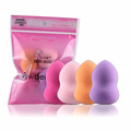 MAANGE 2017 Hot Sale 4pcs Pro Beauty Flawless Makeup Foundation Puff Multi Shape Sponges New houppette