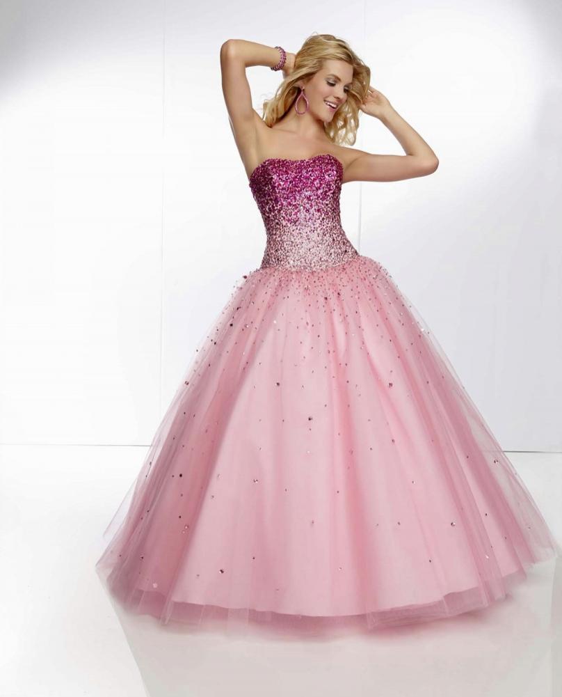 Prom Dresses Pink Puffy - Prom Dresses 2018