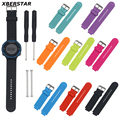 Replacement Silicone Watchbands for Garmin Forerunner 220 230 235 630 620 735XT Watch Strap With Pins