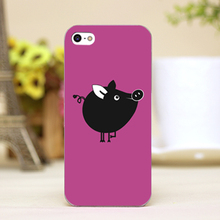 PZ0007-2-3 For Cute animal Design cellphone transparent case cover for iphone cases for iphone 4 5 5c 5s 6 6plus