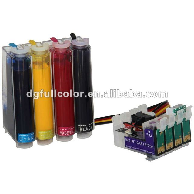 New and Free shipping  Photo CISS for T1281 ink system with pigment ink for epson S22 SX125 inkjet printer