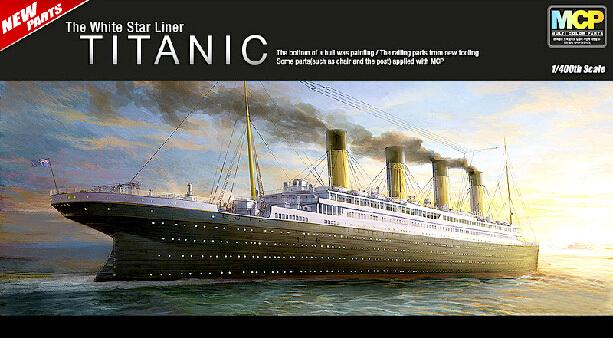 ACADEMY14215 ship Titanic model level assembly model(China (Mainland))