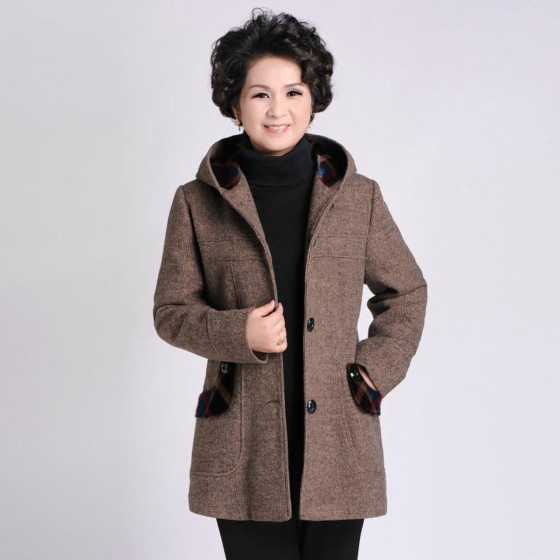 Winter New Fashion Middle Aged Women Aliexpress