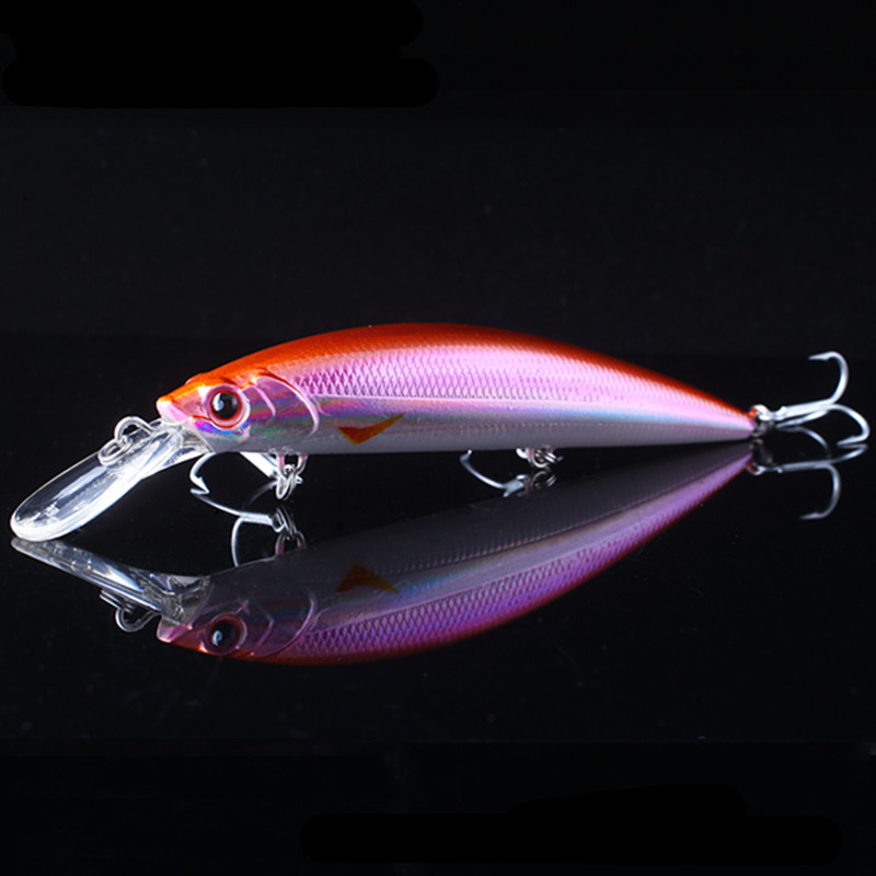 Free Shipping Hard Minnow Bait110mm/40g Sinking 0.2-2.5m Fishing Lure VMC Hooks Fishing Tackles Isca Artificial Para Pesca <br><br>Aliexpress