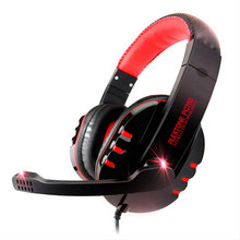 High Quality Stereo Bass Computer Gaming Headset Headphone Earphone With Microphone For Computer Gamer