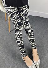 2015 Autumn Women Leggings Cartoon Print Kawaii Pants Fitness Sport Leggings gym clothes women Pantalones Gothic Roupa Mujer(China (Mainland))
