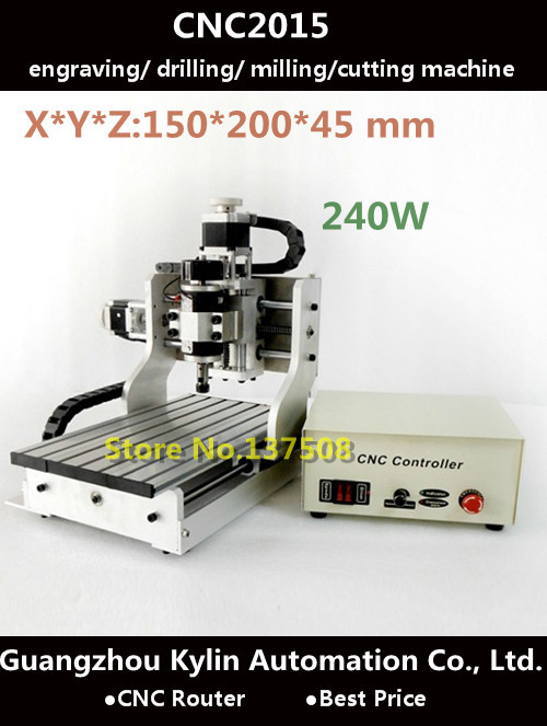 Buy best price mini cnc router cnc2015 for Best router motor for cnc