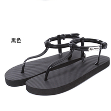 Ms. sandals, Roman sandals, women flat sandals and slippers, T-clip slippers, summer beach flip sandals(China (Mainland))