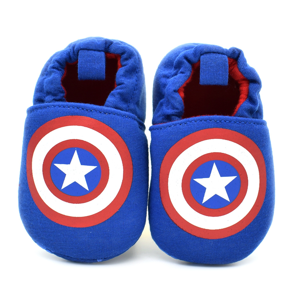 Baby Boy Shoes for Newborns First Walkers Infant Toddler Steps Prewalker Brand Shoes Captain of America Spring Autumn 2016 New(China (Mainland))