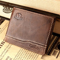 Ruil The New 2017 really crazy horse leather men s wallet short wallet men s fashion