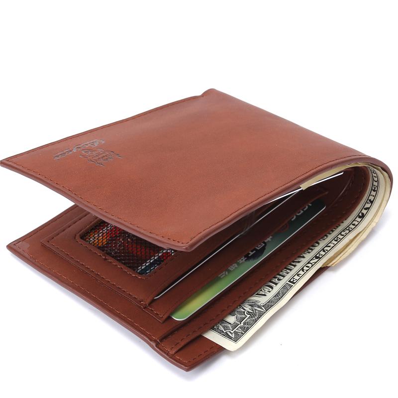2016 New Leather Brand Mens Wallet Multifunctional Short Design Men Wallet Zipper Coin Purse Card Holder<br><br>Aliexpress