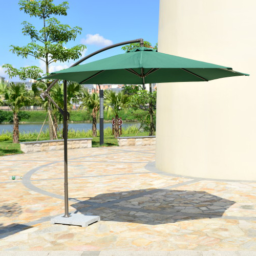 Rome banana umbrella outdoor umbrellas 3 m garden patio furniture cafe commercial large parasol<br>