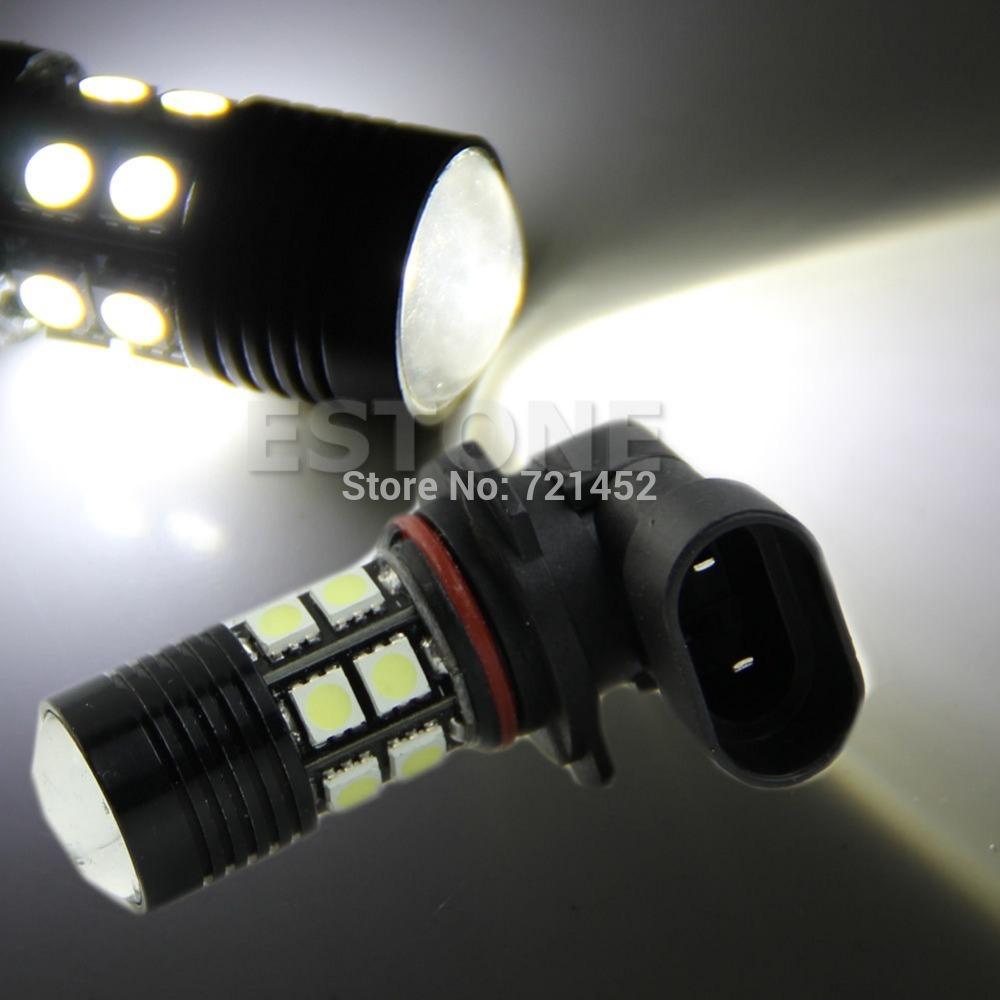 L155 бесплатная доставка 12 Вт н11 Cree белый из светодиодов + 12-SMD 5050 из светодиодов автомобилей туман день запуск света шарика