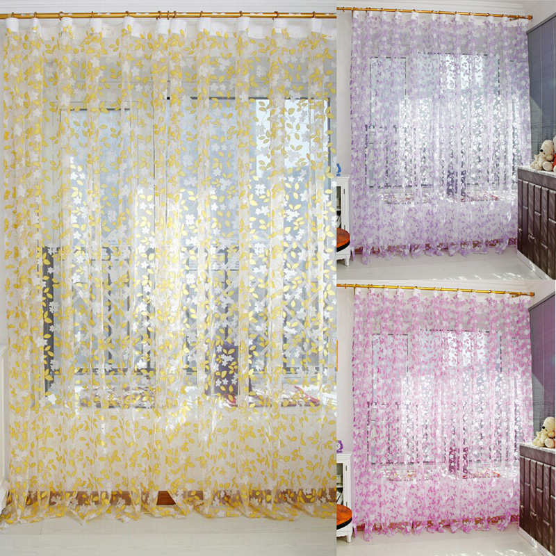 1 Pc Curtain And 1 Pc Tulle Peony Luxury Window Curtains: Online Buy Wholesale Japanese Screen Printing From China
