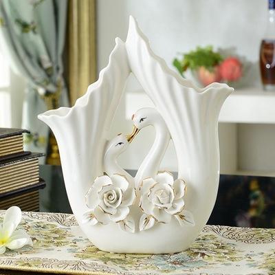 achetez en gros cygne vase en ligne des grossistes cygne vase chinois. Black Bedroom Furniture Sets. Home Design Ideas