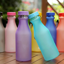 550ML BPA Free Unbreakable Portable Sports Water Bottle Travel Mug Frosted Leak-proof Plastic Drinkware Cup Camping Travel Kits(China (Mainland))