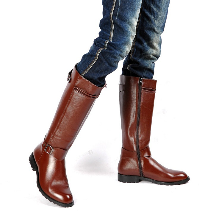 Mens Tall Leather Boots | Santa Barbara Institute for ...