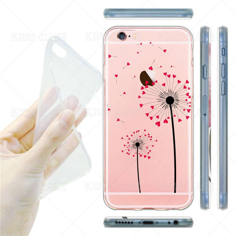Cute Doctor Nurse Medical Case for iPhone 6 6s 6Plus 5 5s se 7 7plus Cover Soft Transparent Silicone TPU Cell Phone Cases Coque
