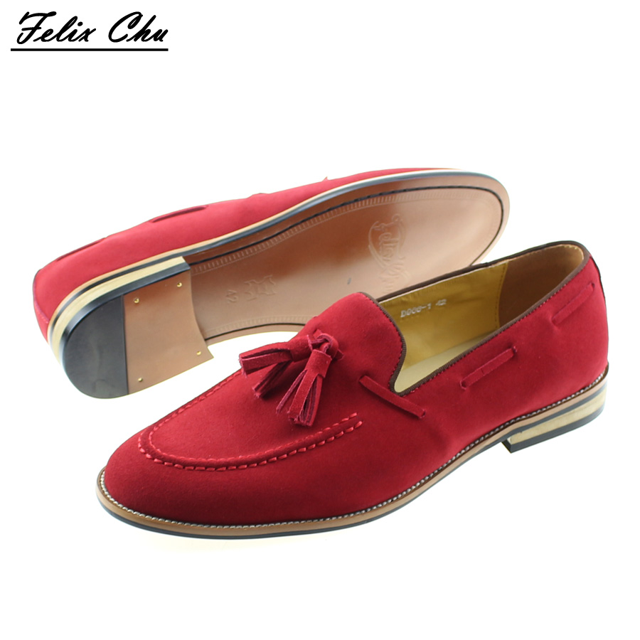 Popular Men Dress Shoes Red Suede-Buy Cheap Men Dress Shoes Red ...