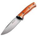 New Buck Fixed Blade Knife 440 Stainless Steel Blade Natural wood Handle Outdoor Hunting Straight Knife