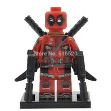 Marvel X-Man Super Heroes Deadpool Minifigures Single Sale Building Blocks Sets Bricks Toys Figures For Children