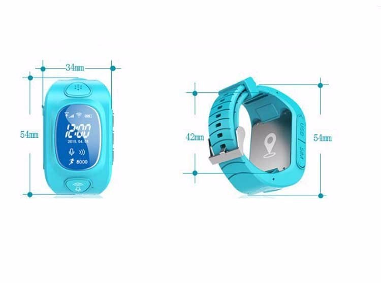 ถูก Y3ใหม่Arrial GPS/GSM/Wifiเด็กติดตามนาฬิกาจีพีเอสสมาร์ทดูเด็กกับSOSสนับสนุนAndroidและIOSต่อต้านหายไป
