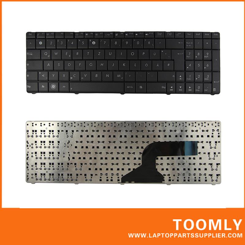 New original laptop keyboard ASUS A53 N53 German Layout Black - Best Laptop Parts-Toomly store