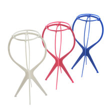 Top Quality Head Hat Cap Holder Wigs Stand Display Tool Hair Accessories Portable Folding Wig Stands Hair Accessory
