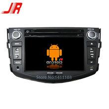 Quad Core Android 4.4 Car DVD GPS player FOR TOYOTA RAV4 (2008-2011) Quad Cortex A9 1.6GHz car audio car multimedia car stereo(China (Mainland))