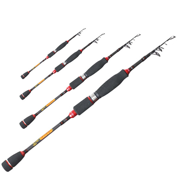 telescopic spinning fishing rod 1 8 carbon fiber surf. Black Bedroom Furniture Sets. Home Design Ideas