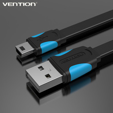 Vention MiNi USB cable 0.25m 0.5m 1m 1.5m 2m data sync charge cable for MP3 MP4 camera mobile phone(China (Mainland))