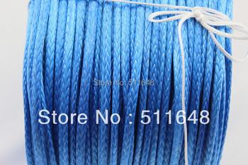 Free Shipping 5MM 100M SL Dyneema fiber 4X4/ATV Winch Rope
