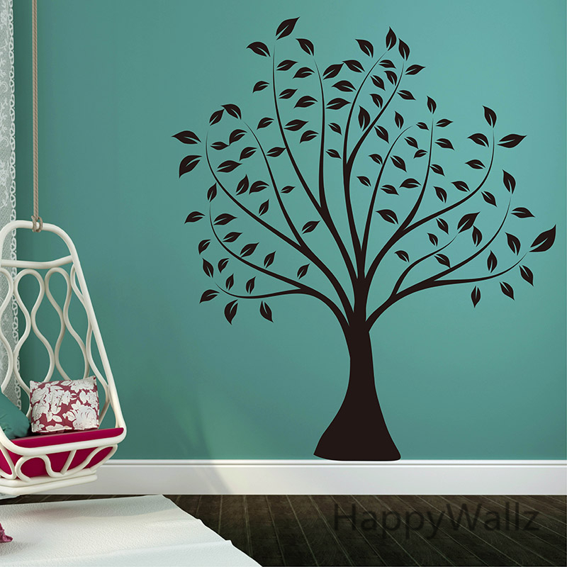 Buy large tree wall sticker photo tree for Diy family tree wall mural