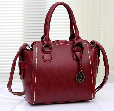 Fashion 2015 women's bags wine red shoulder handbag trend fashion new arrive lady green - fashional accessories store