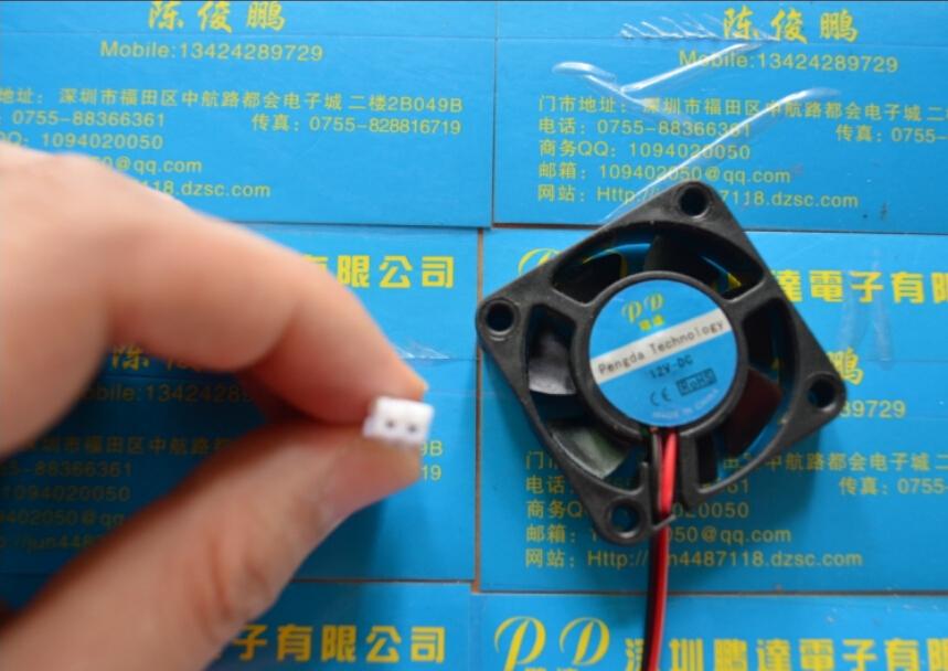 2pcs DC5V 12V 24V 40mm Computer CPU Cooler Cooling Fan PC 4cm 40x40x10mm 2pin(China (Mainland))