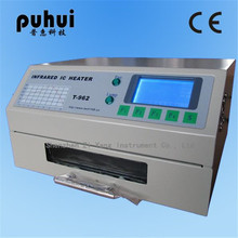 PUHUI T-962 T962 Reflow Oven Infrared IC Heater Soldering Machine 800W 180 x 235 mm T962 for BGA SMD SMT Rework(China (Mainland))