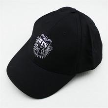 Youpop KPOP Hat For BTS 2016 New Fashion Design Classic Black Sport Baseball Cap Hip-hop Cap Wholesale P8073(China (Mainland))